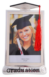 GRADUATION HAT FRAME 4X6 - JJs Newsagency Plus
