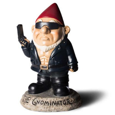 BIGMOUTH THE GNOMINATOR GARDEN GNOME - JJs Newsagency plus
