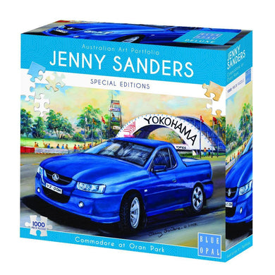 SP- JIGSAW PUZZLE BLUE OPAL DELUXE 1000 PIECE COMMODORE AT ORAN PARK - JJs Newsagency plus