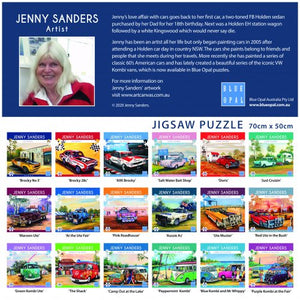 JENNY SANDERS KOMBIS OF THE SIXTIES PEPPERMINT KOMBI - JJs Newsagency plus