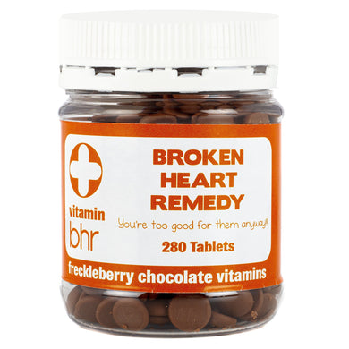 BROKEN HEART REMEDY FRECKLEBERRY CHOCOLATE VITAMINS - JJs Newsagency plus