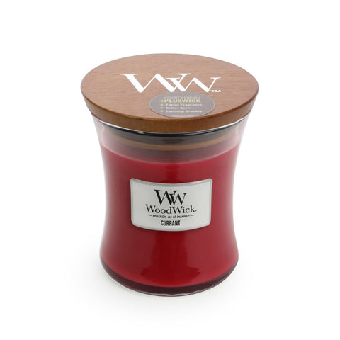 CANDLE WOODWICK MEDIUM HOURGLASS CURRANT - JJs Newsagency plus
