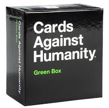 CARDS AGAINST HUMANITY GREEN BOX - JJs Newsagency plus