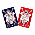 CARDS PLAYING QUEENS SLIPPER CASINO SLIP - Gifts R Us