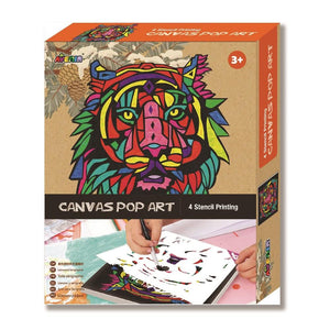 AVENIR CANVAS POP ART LION - JJs Newsagency plus