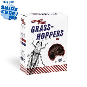CHOCOLATE COATED GRASS HOPPERS - JJs Newsagency plus