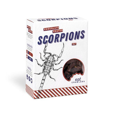 CHOCOLATE COATED SCORPIONS - JJs Newsagency plus