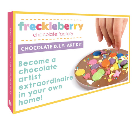 FRECKLEBERRY CHOCOLATE D.I.Y ART KIT - Gifts R Us