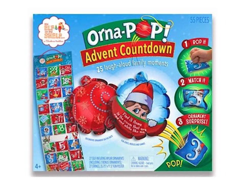 ELF ON THE SHELF ORNA POP ADVENT CALENDER - Gifts R Us