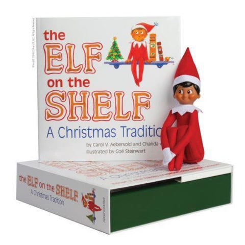 ELF ON THE SHLEF BOY dark - JJs Newsagency plus