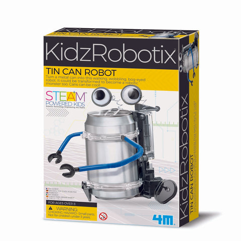 4M KIDZROBOTIX TIN CAN ROBOT - Gifts R Us