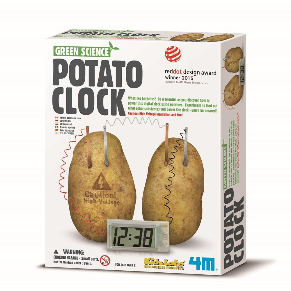 4M - GREEN SCIENCE - POTATO CLOCK - JJs Newsagency plus