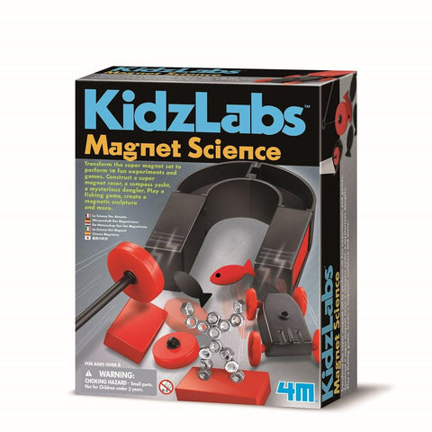 4M KIDZLAB MAGNET SCIENCE - JJs Newsagency plus