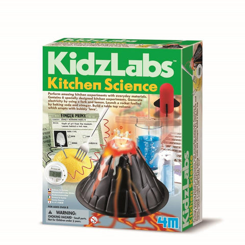 KIDZLABS KITCHEN SCIENCE - JJs Newsagency plus