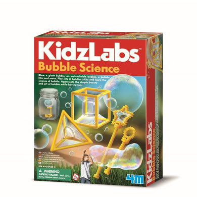 4M KIDZLABS BUBBLE SCIENCE - JJs Newsagency plus