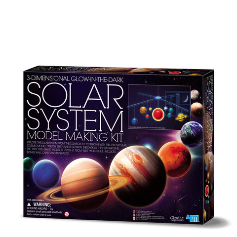 4M - SOLAR SYSTEM MOBILE KIT LARGE - Gifts R Us