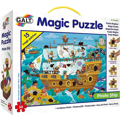 GALT MAGIC PUZZLE PIRATE SHIP - JJs Newsagency plus