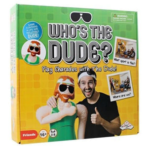 WHO'S THE DUDE - JJs Newsagency plus