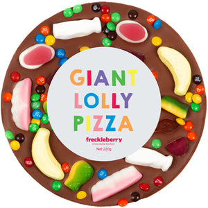 GIANT MILK CHOC LOLLY PIZZA - JJs Newsagency plus