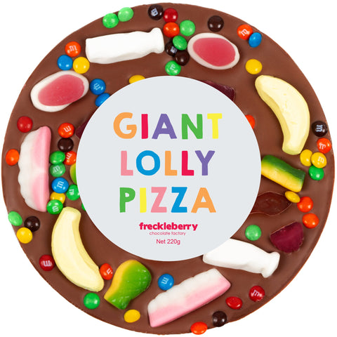 GIANT MILK CHOC LOLLY PIZZA - Gifts R Us