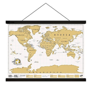 HANG MAGNETIC POSTER TRAVEL SCRATCH MAP - JJs Newsagency plus