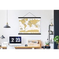 Load image into Gallery viewer, HANG MAGNETIC POSTER TRAVEL SCRATCH MAP - JJs Newsagency plus