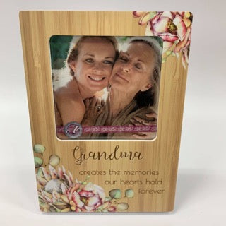 BUNCH OF JOY PHOTO FRAME 4X4 GRANDMA - Gifts R Us