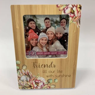 BUNCH OF JOY PHOTO FRAME 4X4 FRIENDS - JJs Newsagency plus