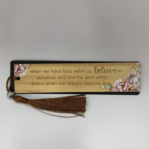 BUNCH OF JOY BOOKMARK BELIEVE - Gifts R Us