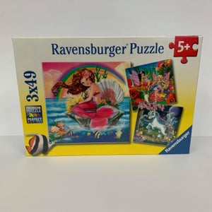 RBURG MYTHICAL CREATURES PUZZEL 3X49PC - JJs Newsagency plus