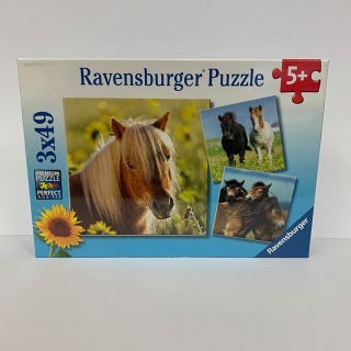 RBURG LOVING HORSES PUZZEL 3X49PC - JJs Newsagency plus