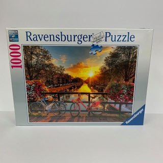 RBURG BICYCLES IN AMSTERDAM PUZZLE 1000PC - JJs Newsagency plus