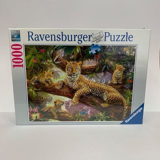 RBURG LEOPARD FAMILY PUZZLE 1000PC - JJs Newsagency plus