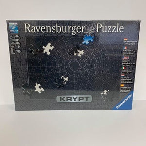 RBURG KRYPT BLACK PUZZLE 736PC - JJs Newsagency plus