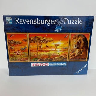 RBURG AFRICAN MAJESTY PUZZLE 1000PC - JJs Newsagency plus