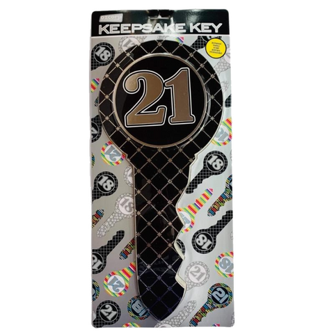 21st Key Black Argyle - JJs Newsagency plus