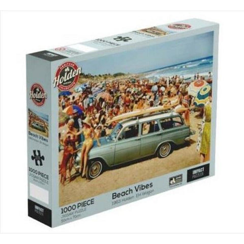 IMPACT PUZZLE HOLDEN BEACH VIBES 1000 PC - JJs Newsagency plus