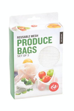 IS GIFT MESH PRODUCE BAGS(SET OF 3) - JJs Newsagency plus