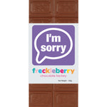 I'M SORRY MILK CHOCOLATE FRECKLEBERRY - Gifts R Us