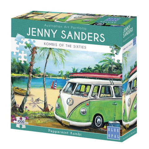 JENNY SANDERS KOMBIS OF THE SIXTIES PEPPERMINT KOMBI - Gifts R Us