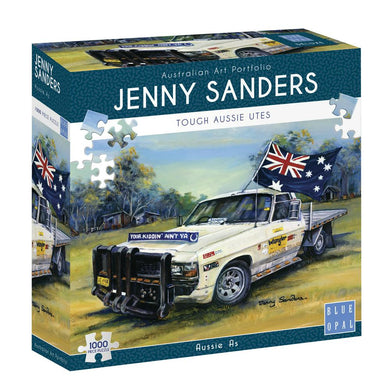 SP- JIGSAW PUZZLE BLUE OPAL DELUXE 1000 PIECE AUSSIE AS - JJs Newsagency plus