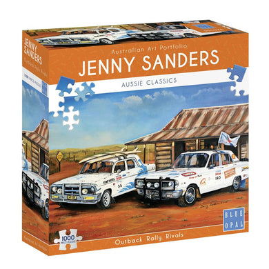 JENNY SANDERS OUTBACK RALLY RIVALS - JJs Newsagency plus
