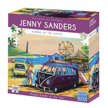 Load image into Gallery viewer, JENNY SANDERS PURPLE KOMBI AT THE FAIR - JJs Newsagency plus