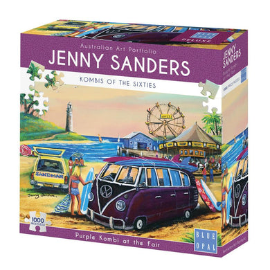 JENNY SANDERS PURPLE KOMBI AT THE FAIR - JJs Newsagency plus