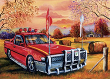 Load image into Gallery viewer, JENNY SANDERS RED UTE IN THE BUSH - JJs Newsagency plus