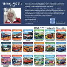 Load image into Gallery viewer, SP- JIGSAW PUZZLE BLUE OPAL DELUXE 1000 PIECE UTE MUSTER - JJs Newsagency plus
