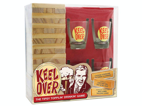 KEEL OVER DRINKING GAME - Gifts R Us