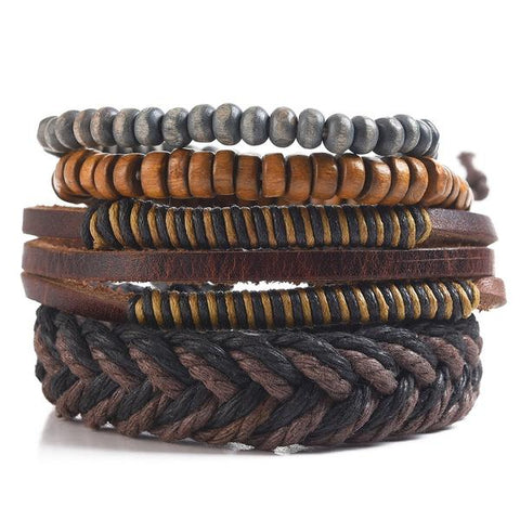 MAD MAN MULTI STAND BRACELET CHEVRON - JJs Newsagency plus
