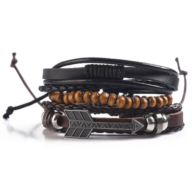 MAD MAN MULTI STRAND BRACELET ARROW - JJs Newsagency plus