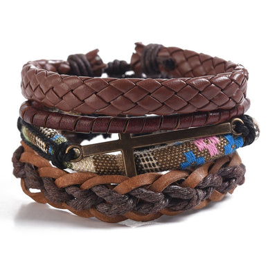 MULTI STRAND BRACELET CROSSED - JJs Newsagency plus
